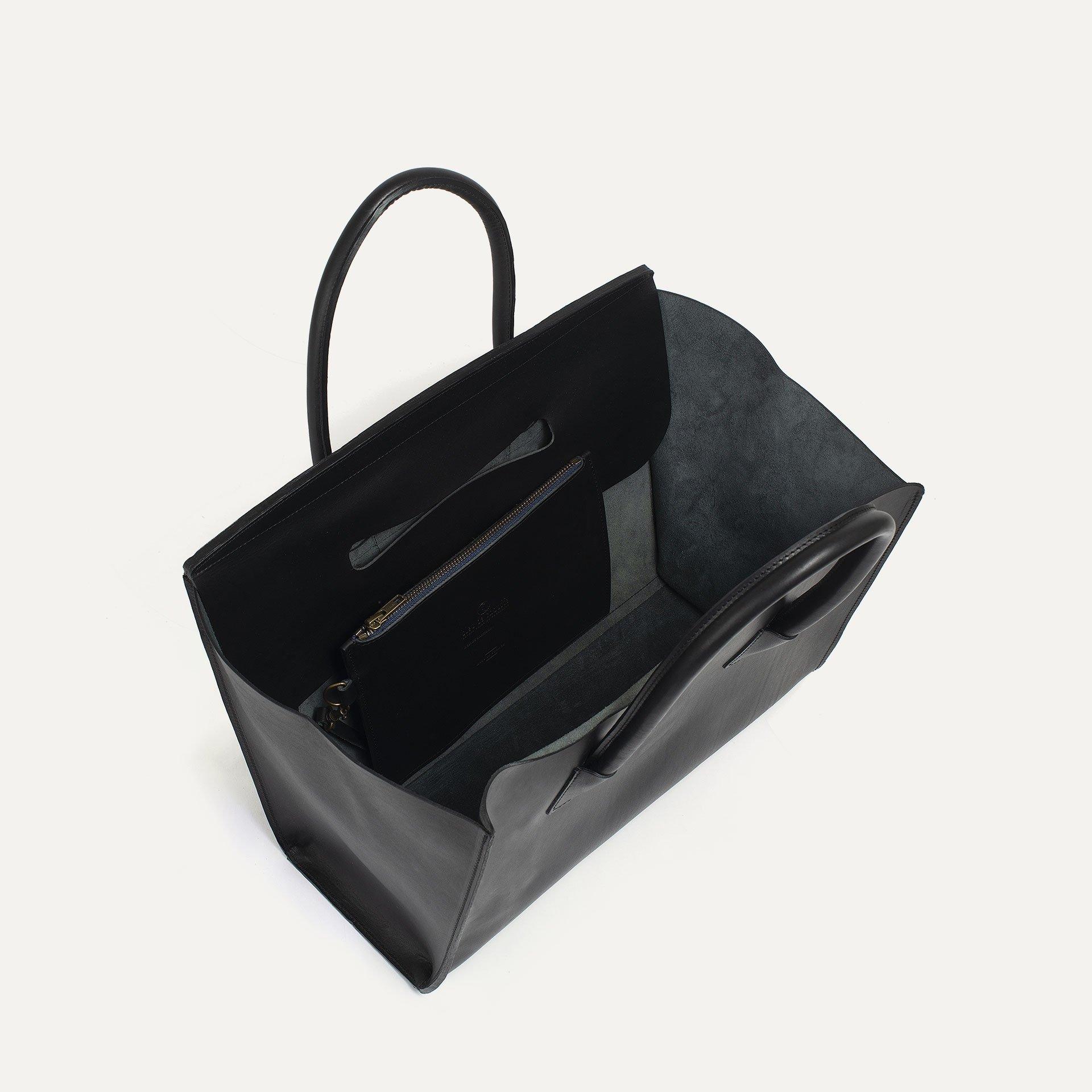 Cabas Origami L - Noir (image n°4)