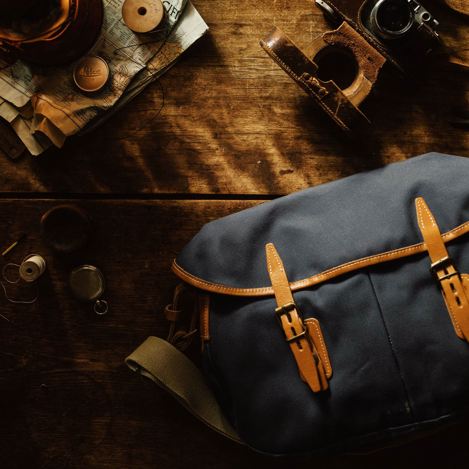 Fisherman's Musette M - Midnight blue (image n°6)