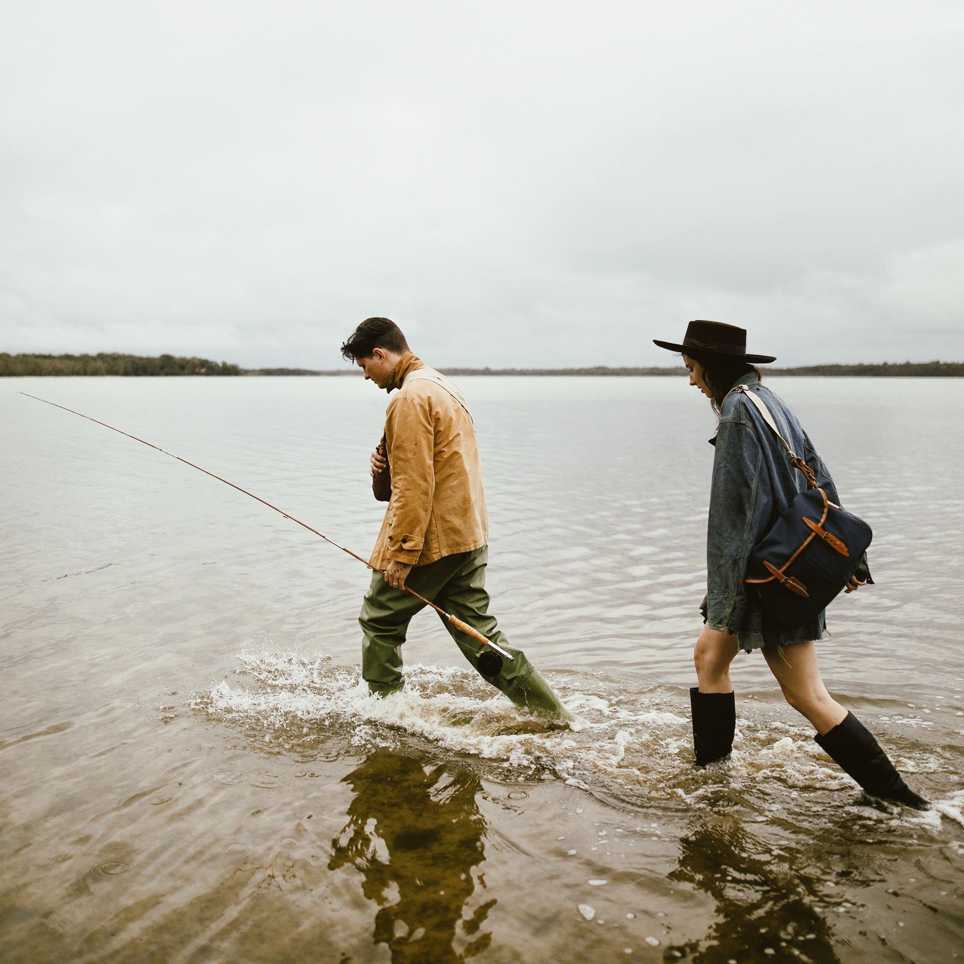 Musette du Pêcheur M - Kaki Foncé (image n°5)
