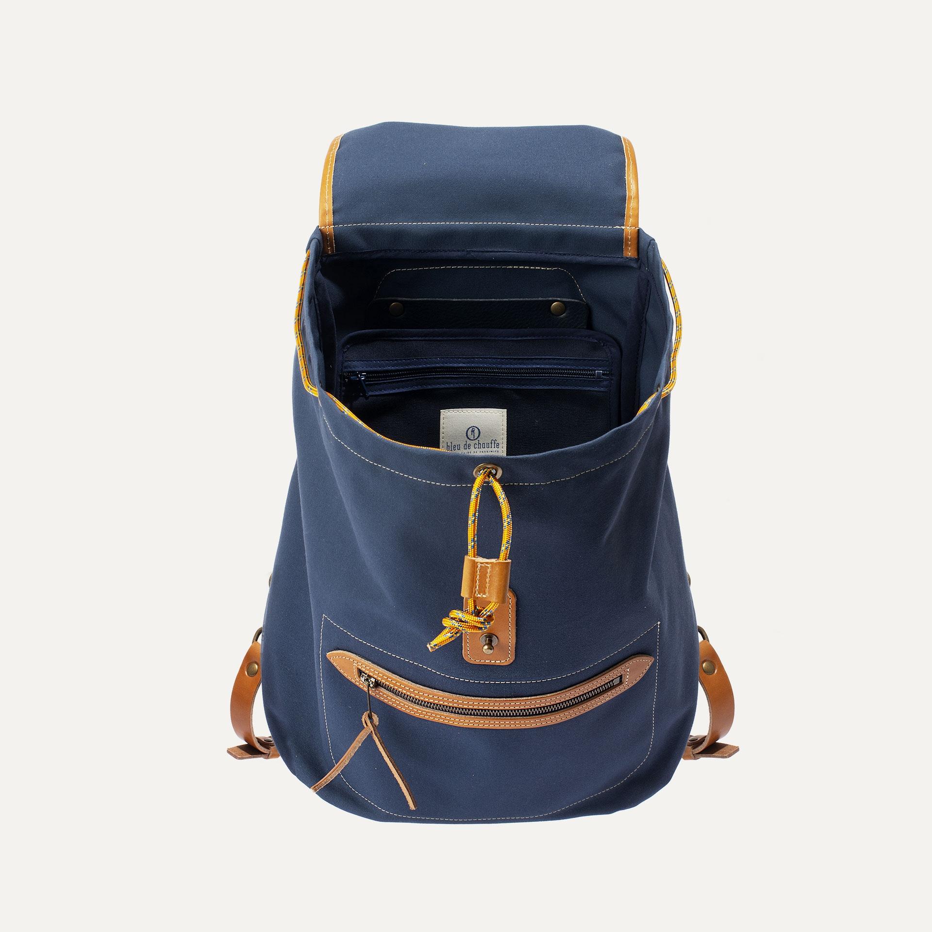 Camp backpack - Marine Blue (image n°4)