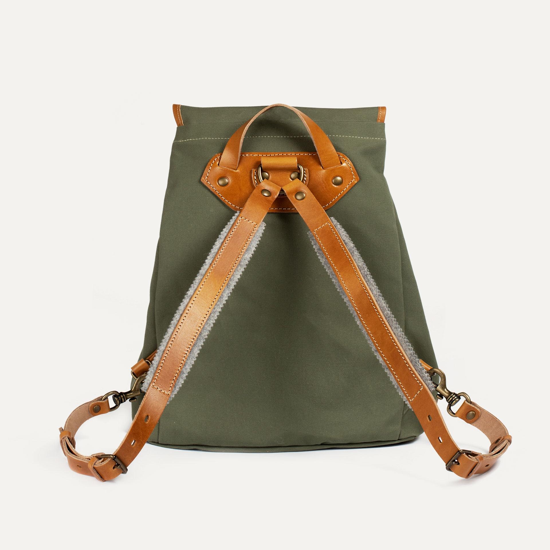 Camp backpack - Lichen Green (image n°3)