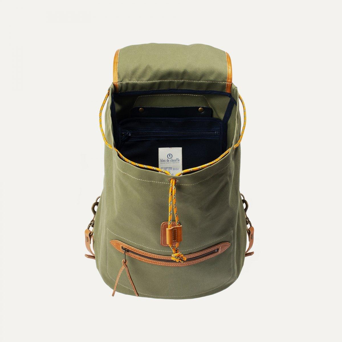 Camp backpack - Lichen Green (image n°4)