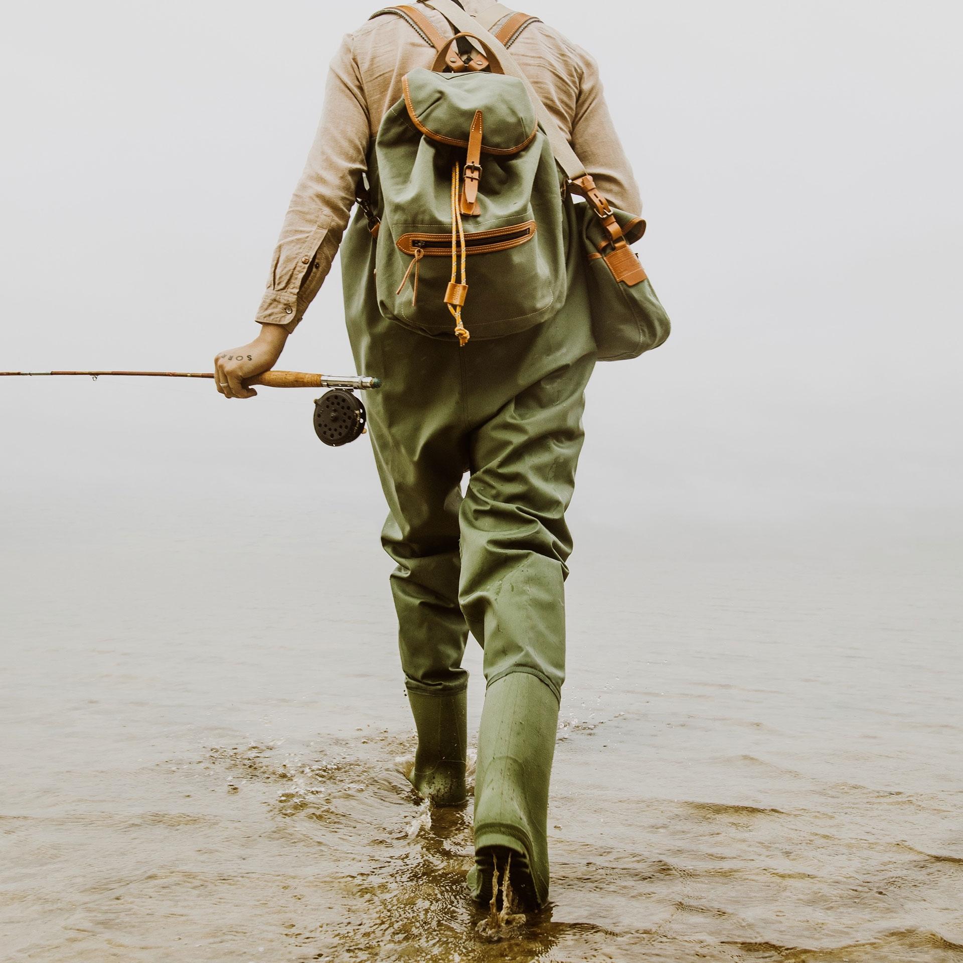 Camp backpack - Lichen Green (image n°5)