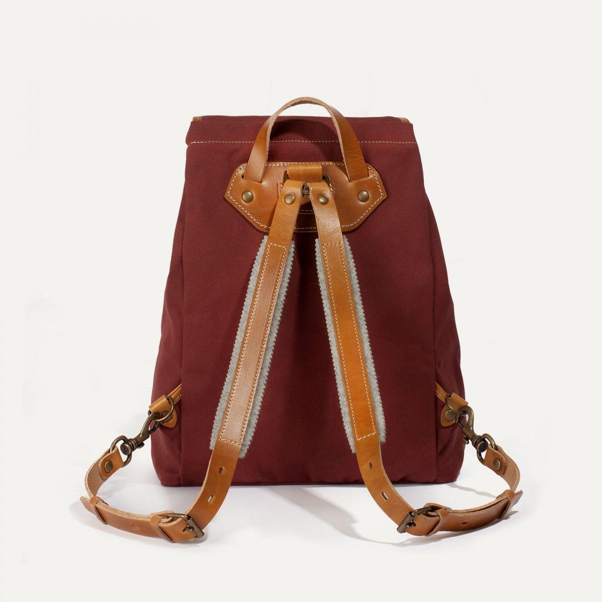 Camp backpack - Cardinal red (image n°3)