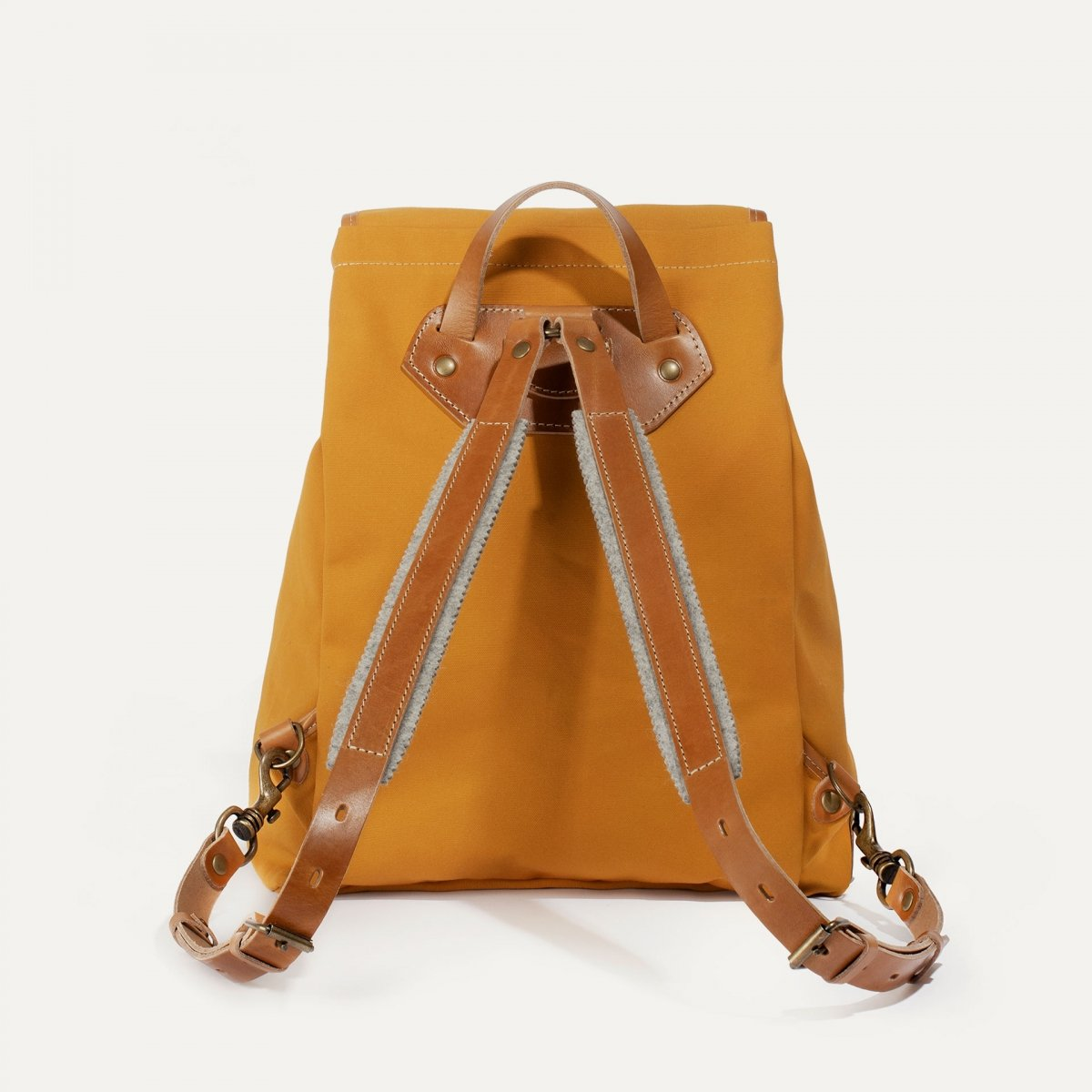 Camp backpack - Yellow ochre (image n°3)