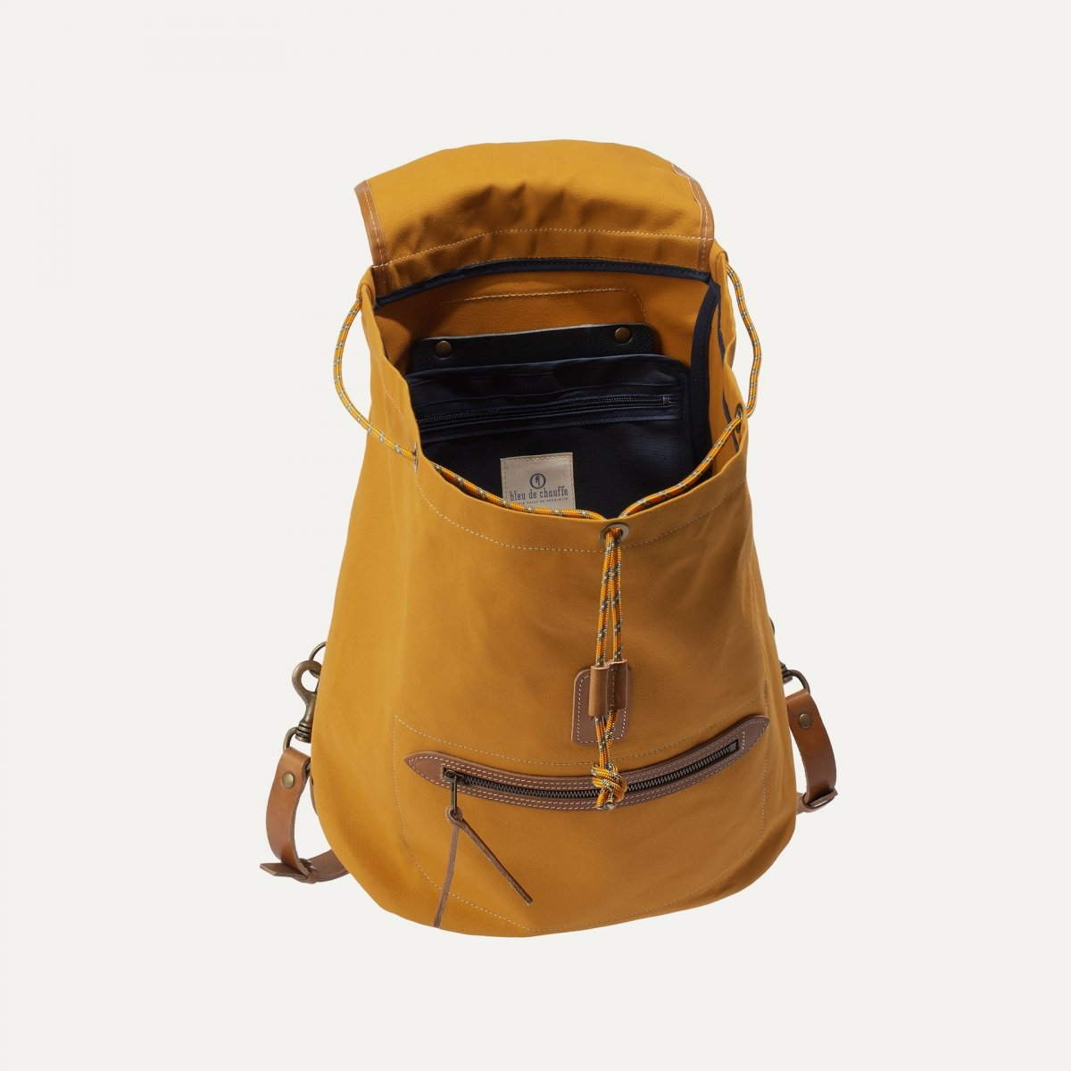 Camp backpack - Yellow ochre (image n°4)