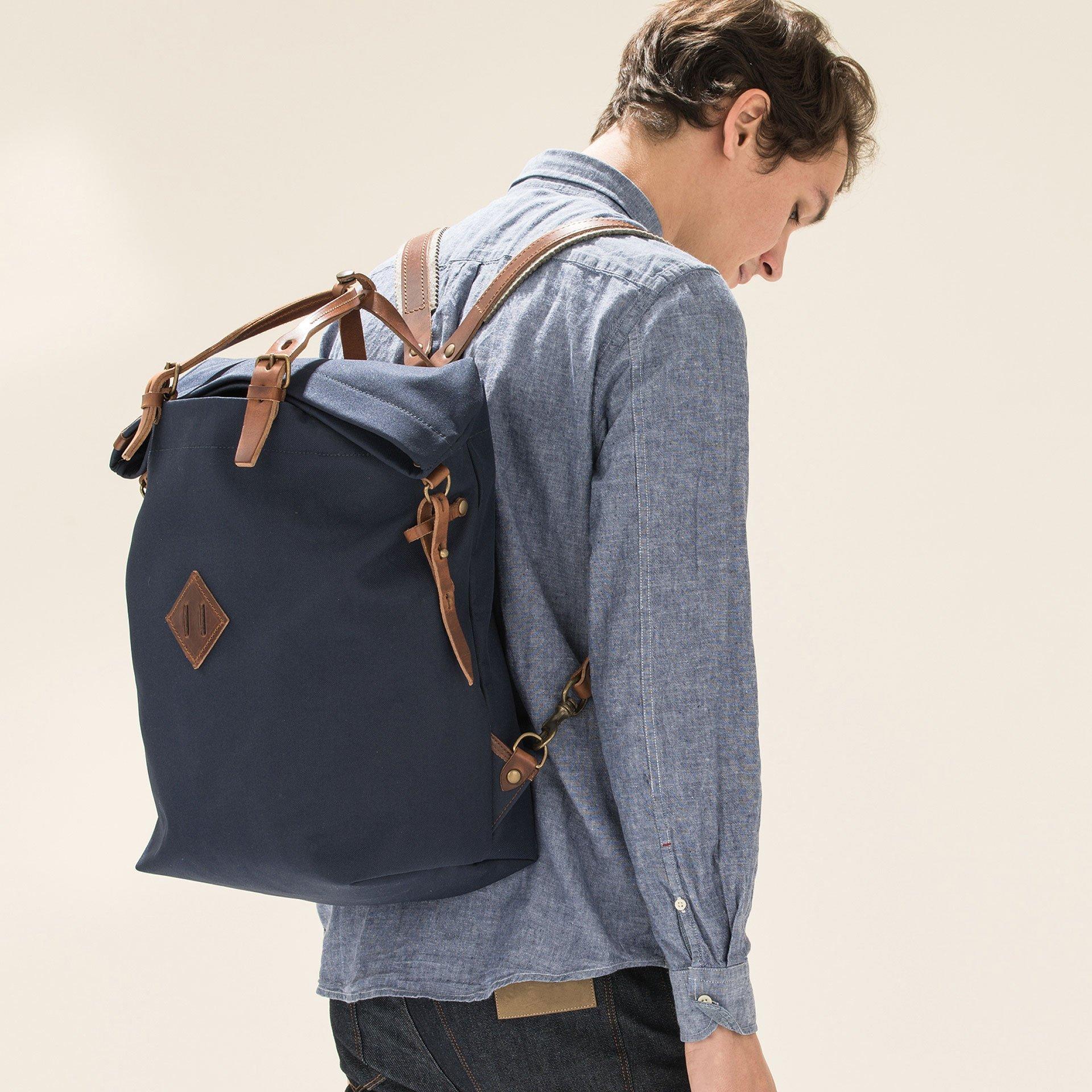 Woody M Backpack - Peacoat Blue (image n°5)