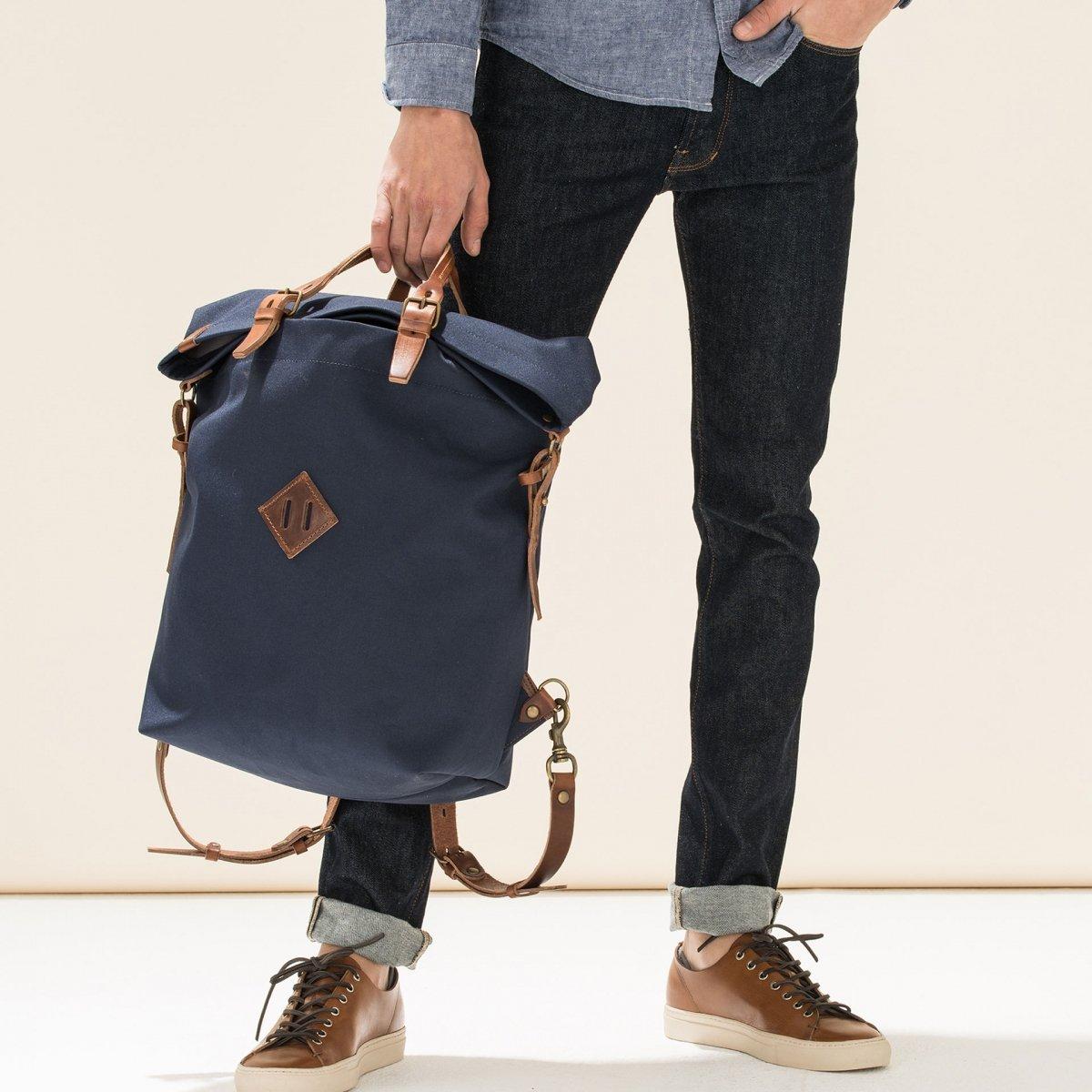 Woody M Backpack - Peacoat Blue (image n°6)