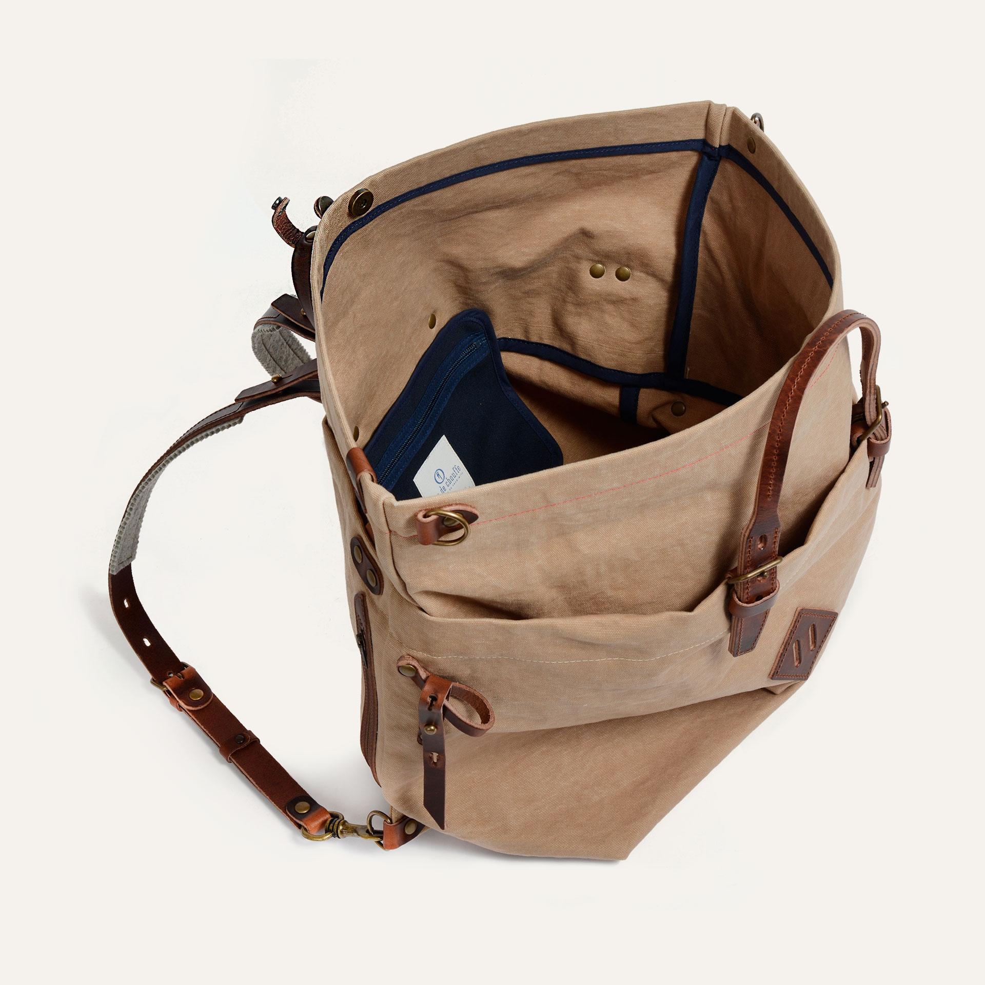 Woody L Backpack - Wheat  (image n°4)
