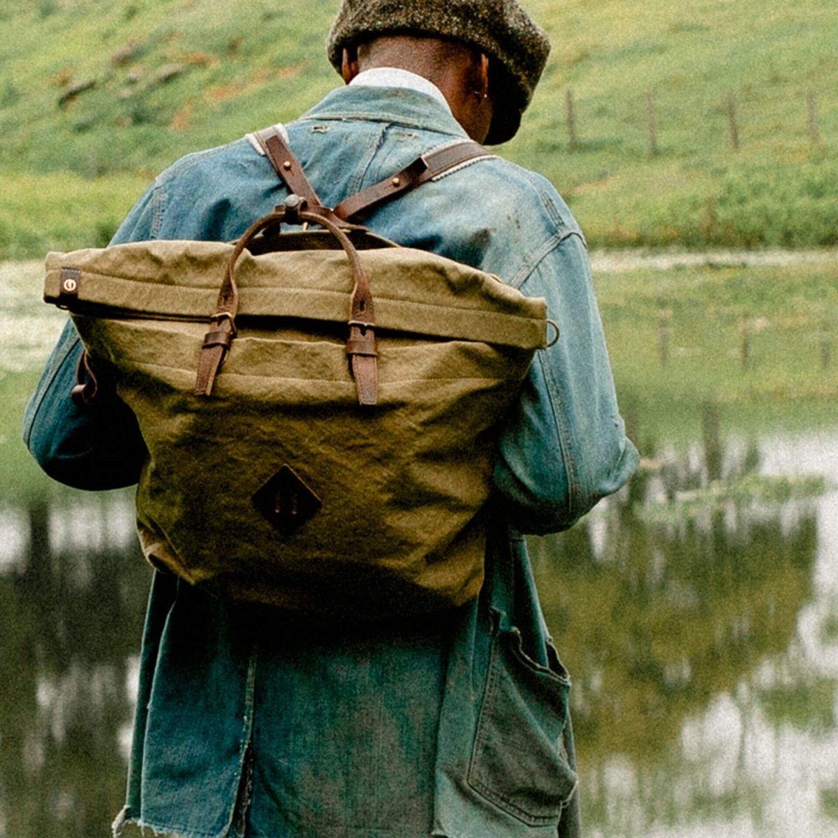 Woody L Backpack - Wheat  (image n°6)