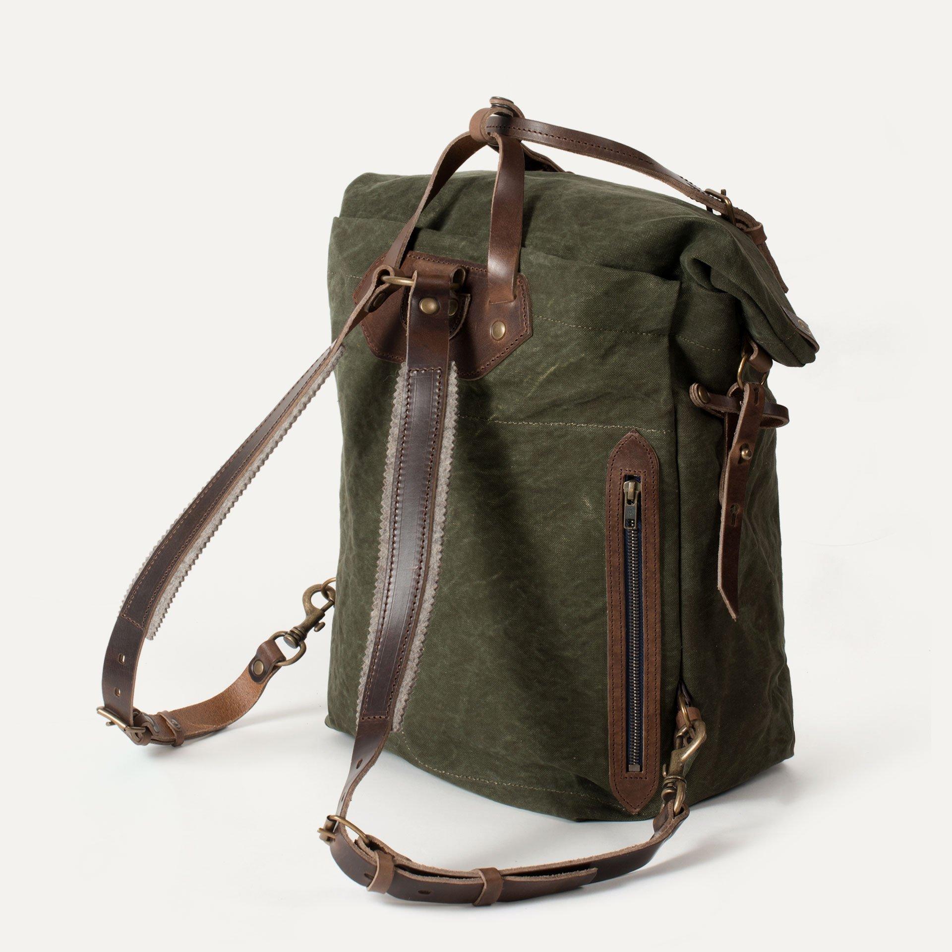 Woody M Backpack - Dark Khaki (image n°3)