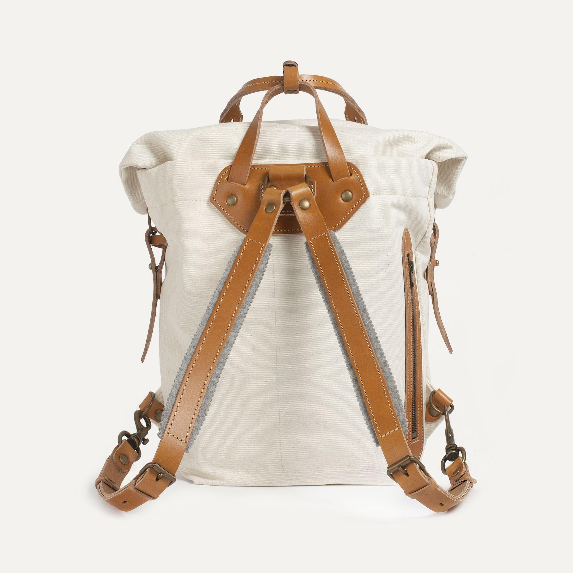 Woody M Backpack - Ecru (image n°3)