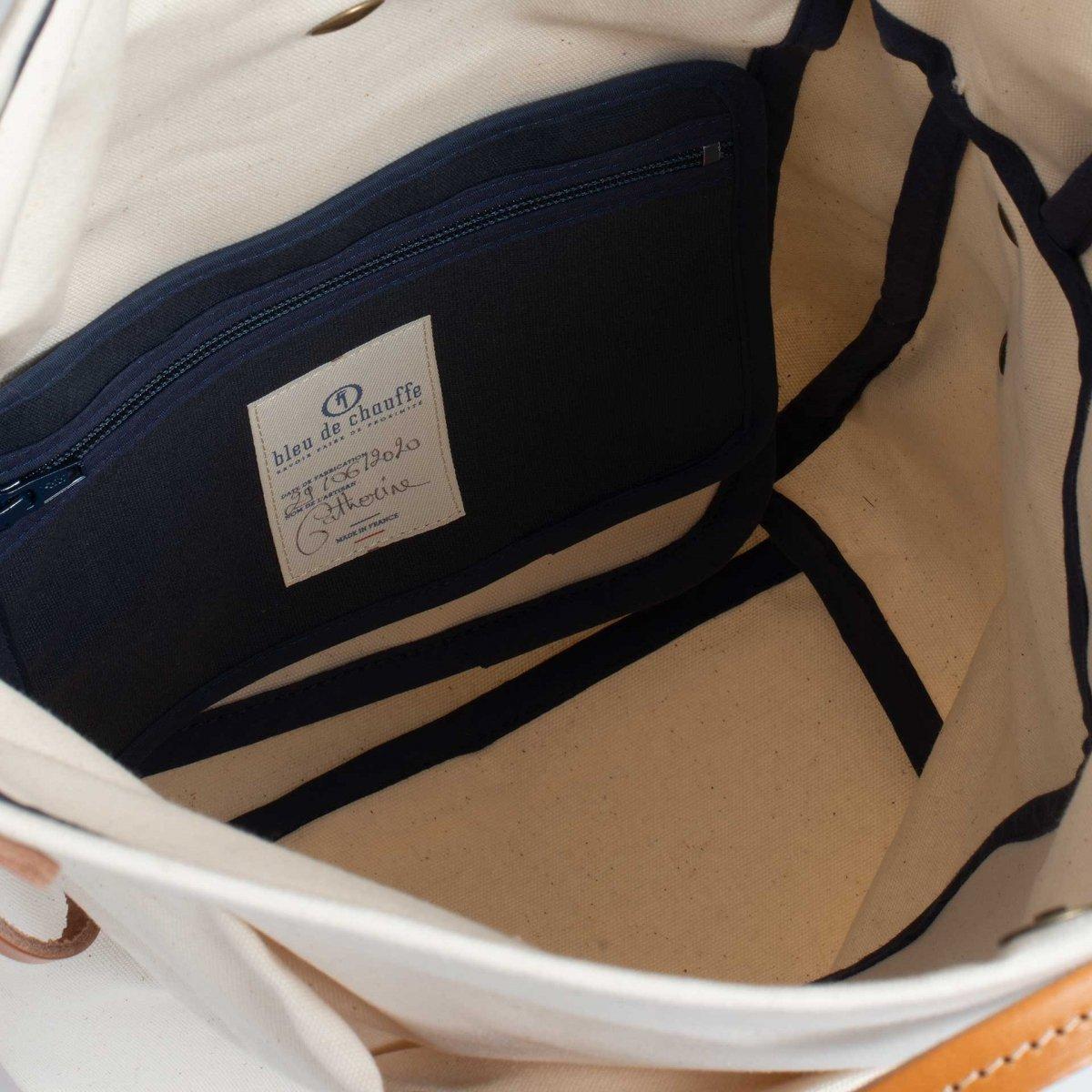 Woody M Backpack - Ecru (image n°4)