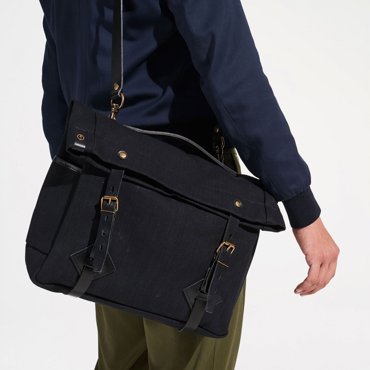 "Gaston tool bag – ""Musette"" - Black (image n°5)"