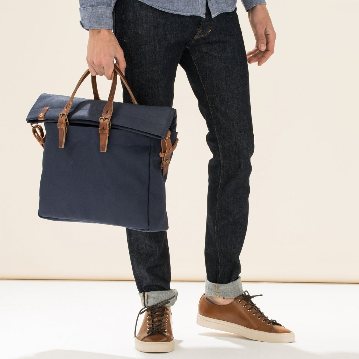 Remix business bag - Peacoat Blue (image n°5)