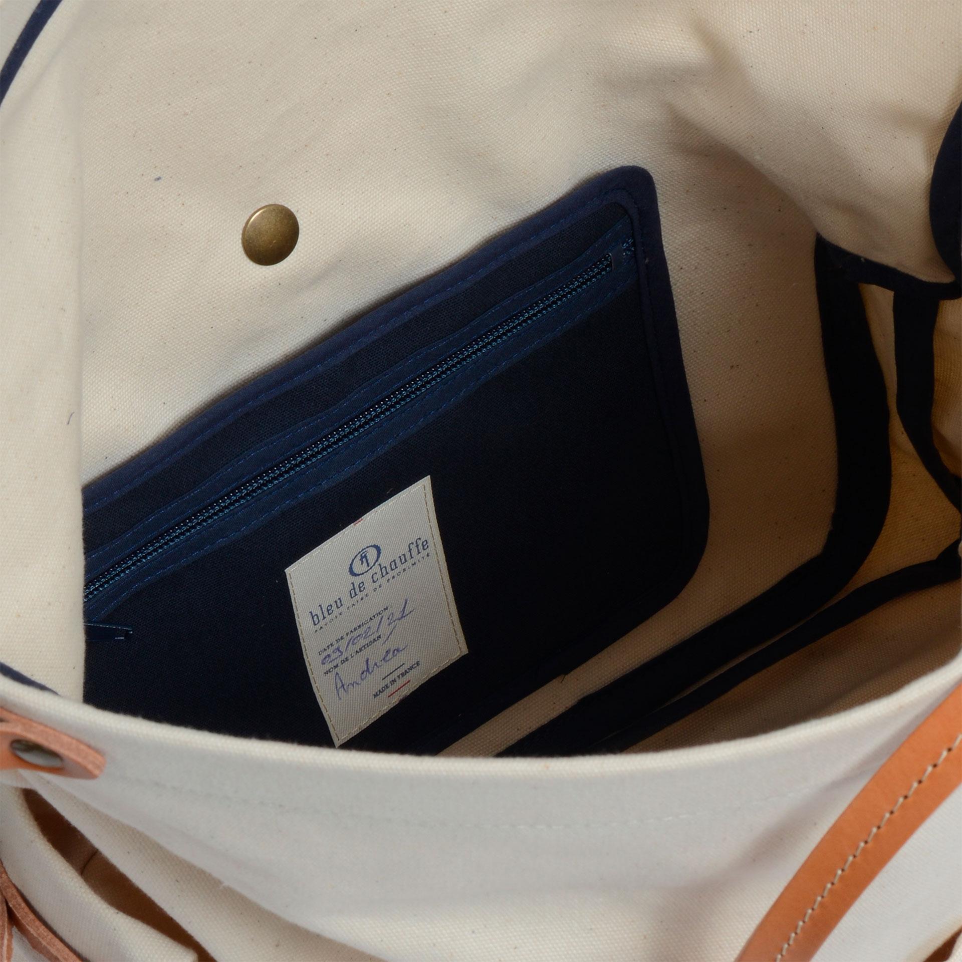Remix business bag - Ecru (image n°4)
