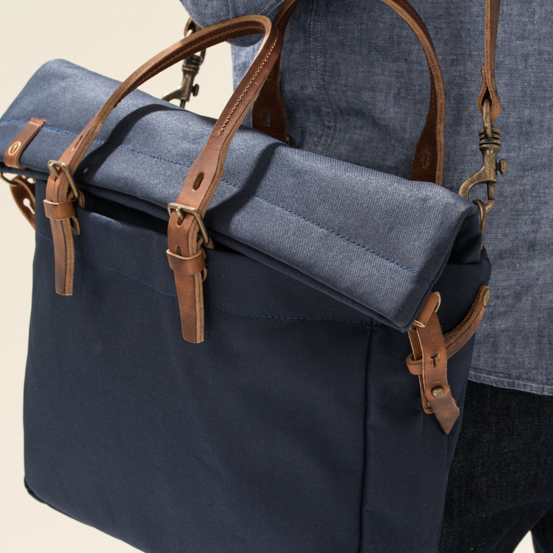 Remix business bag - Ecru (image n°6)