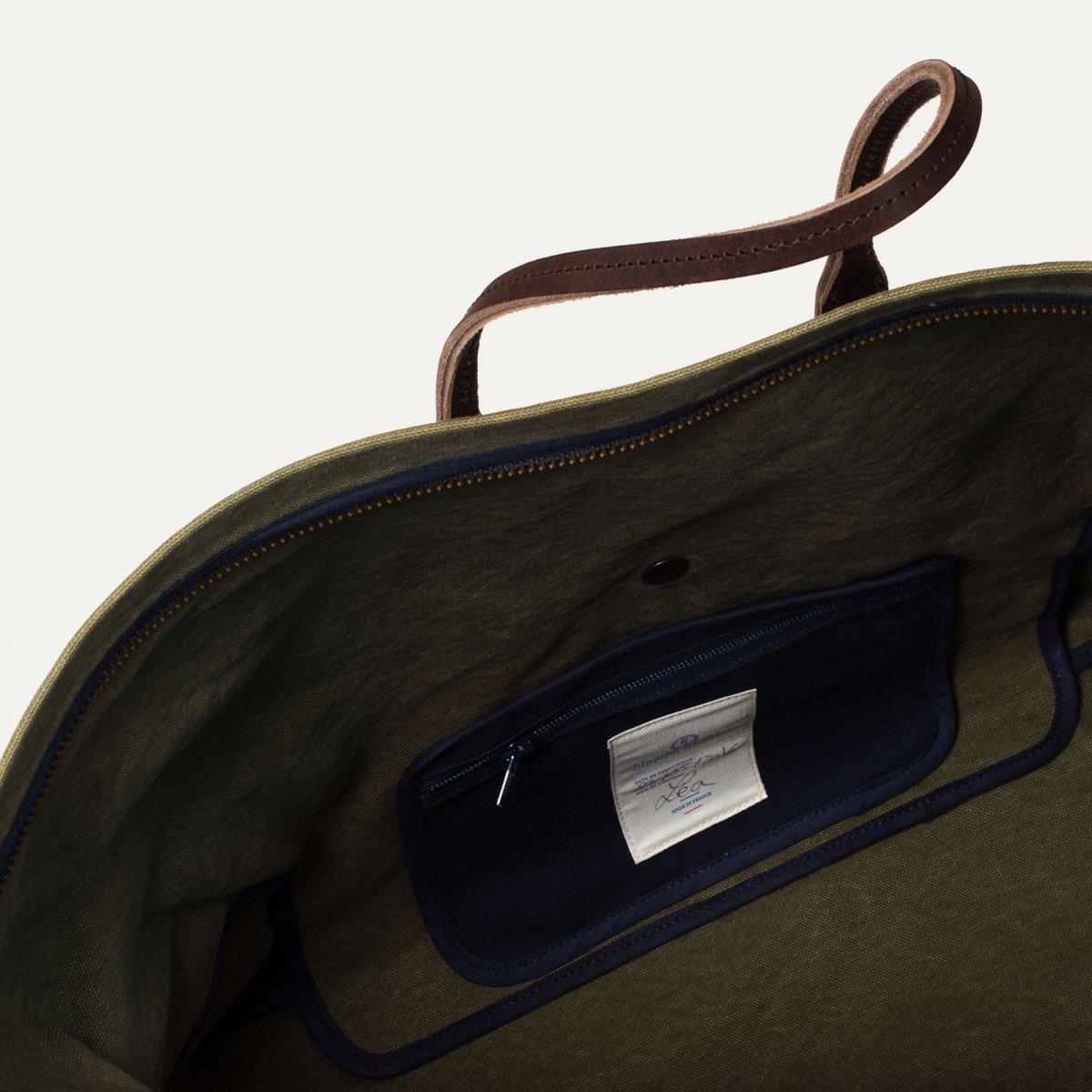 Cabine Travel bag  - Dark Khaki (image n°5)