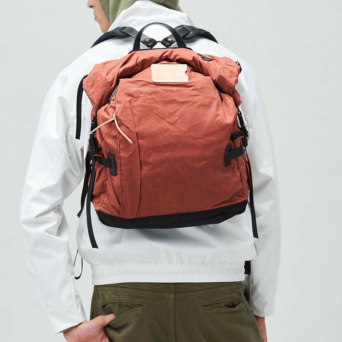 20L Basile Backpack - Burgundy (image n°5)