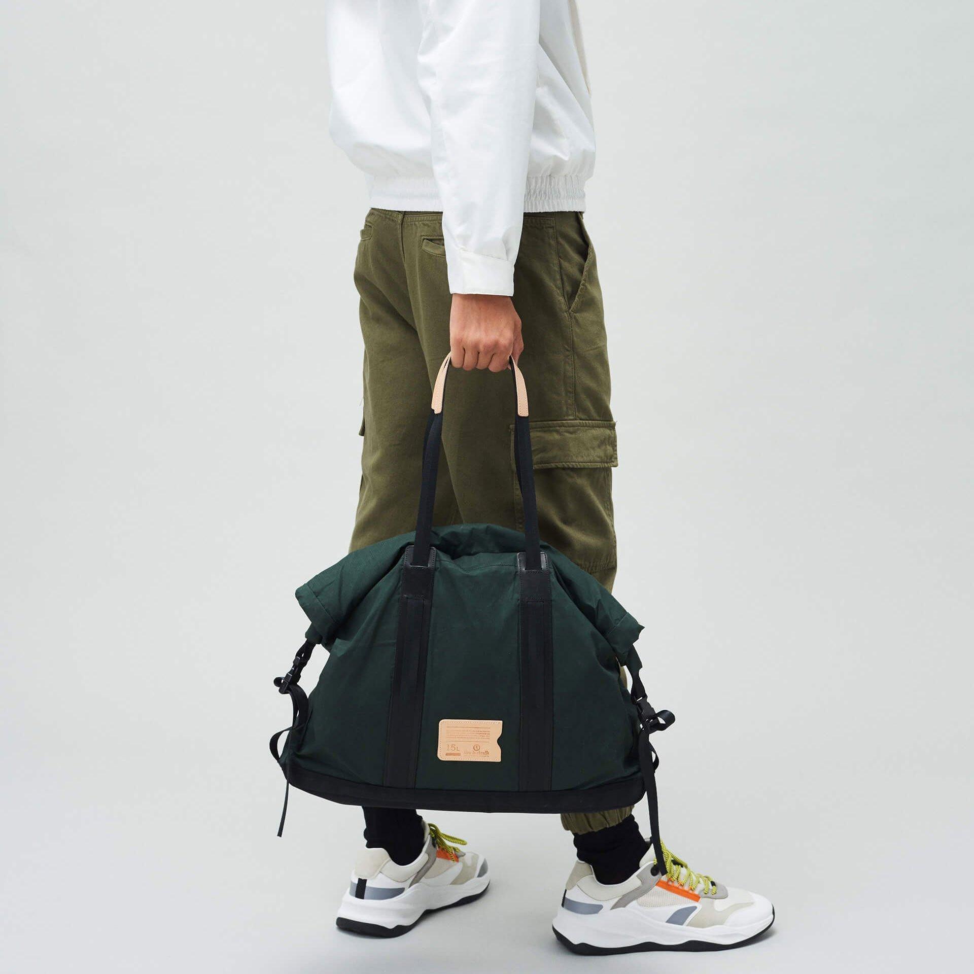 15L Barda Tote bag - Dark Khaki (image n°6)