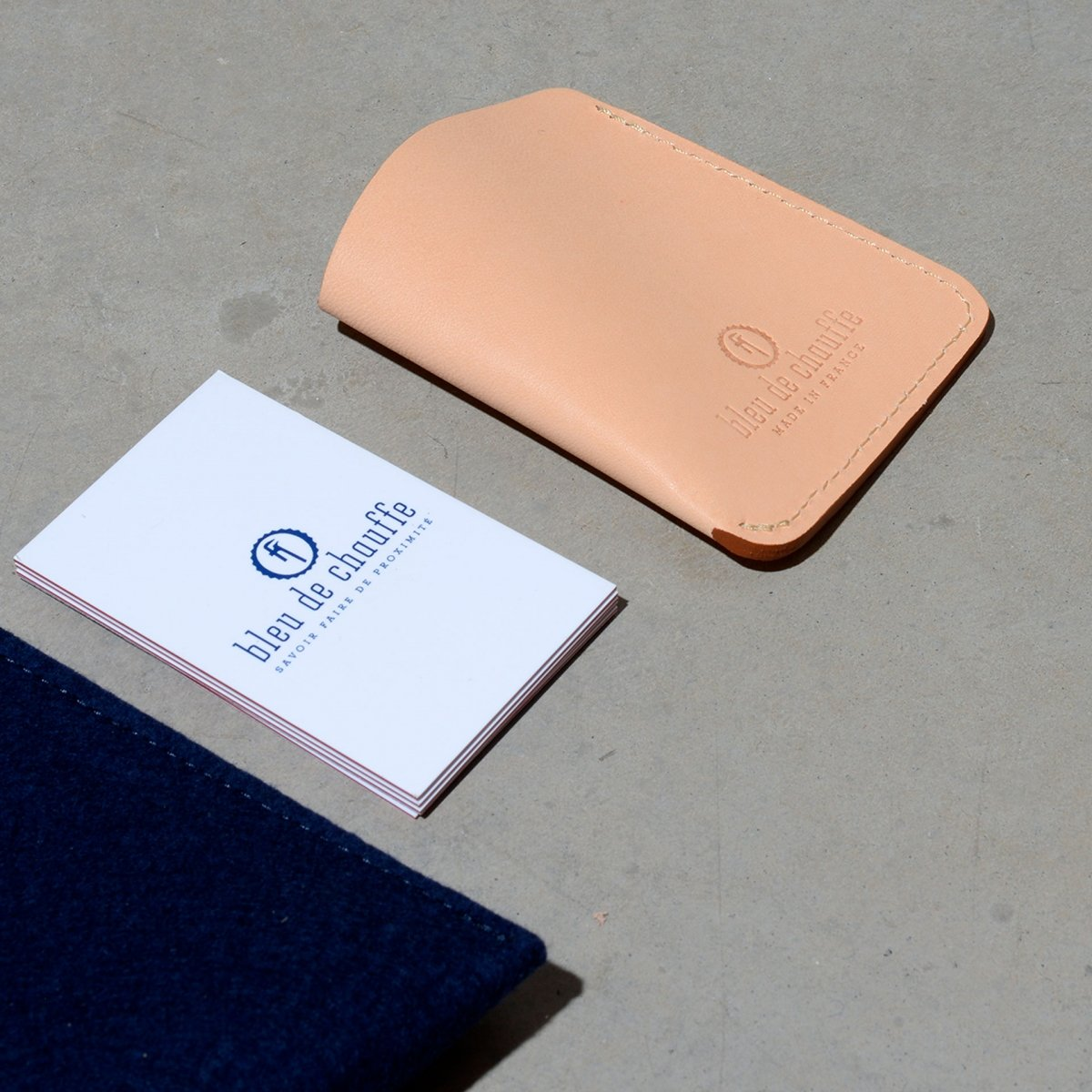 Intro business card holder - Natural (image n°4)
