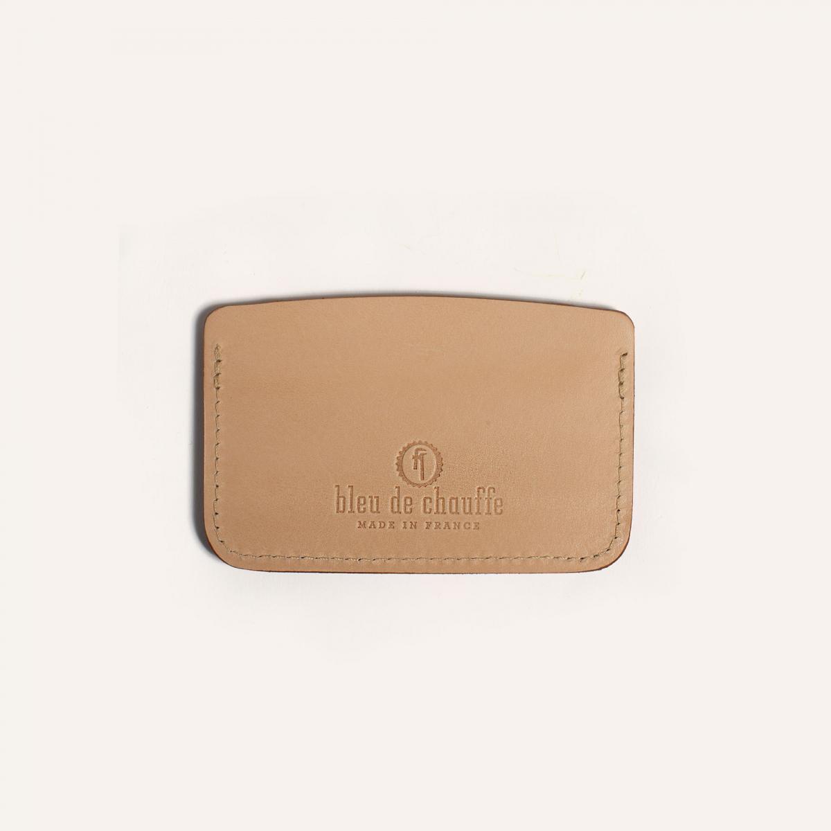 Visamex card holder - Natural (image n°1)