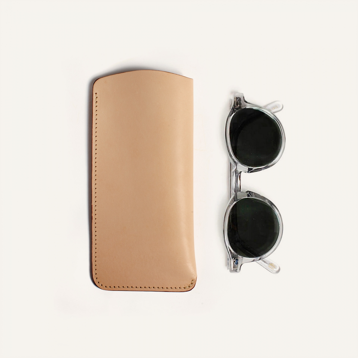 Binocle glasses case - Natural (image n°1)