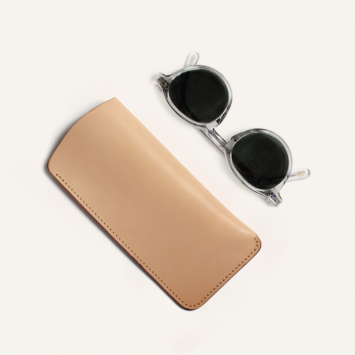 Binocle glasses case - Natural (image n°3)