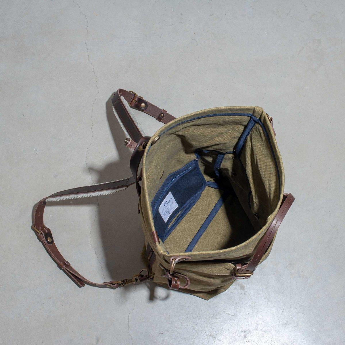 Woody S Backpack - Khaki stonewashed (image n°4)