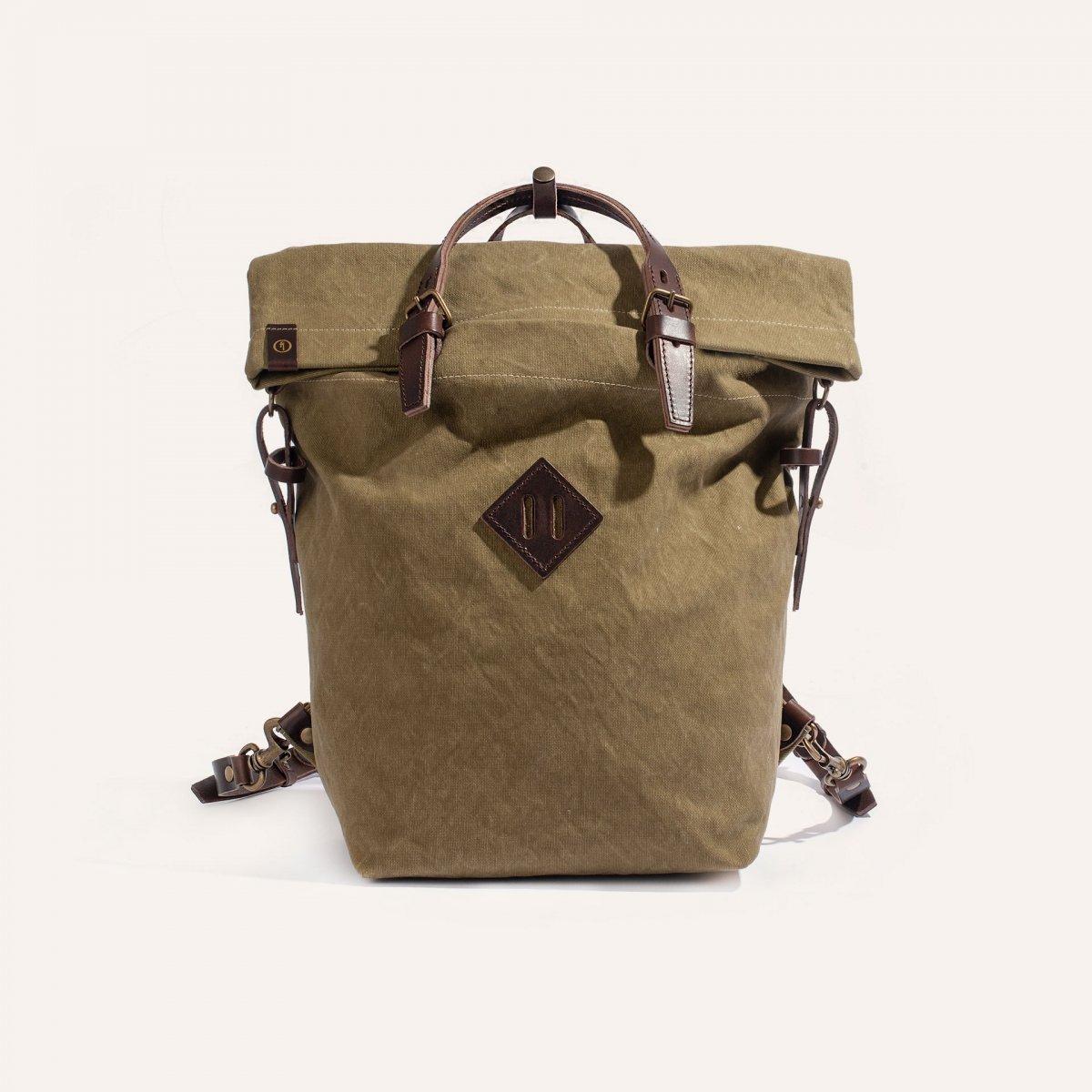 Woody S Backpack - Khaki stonewashed (image n°1)