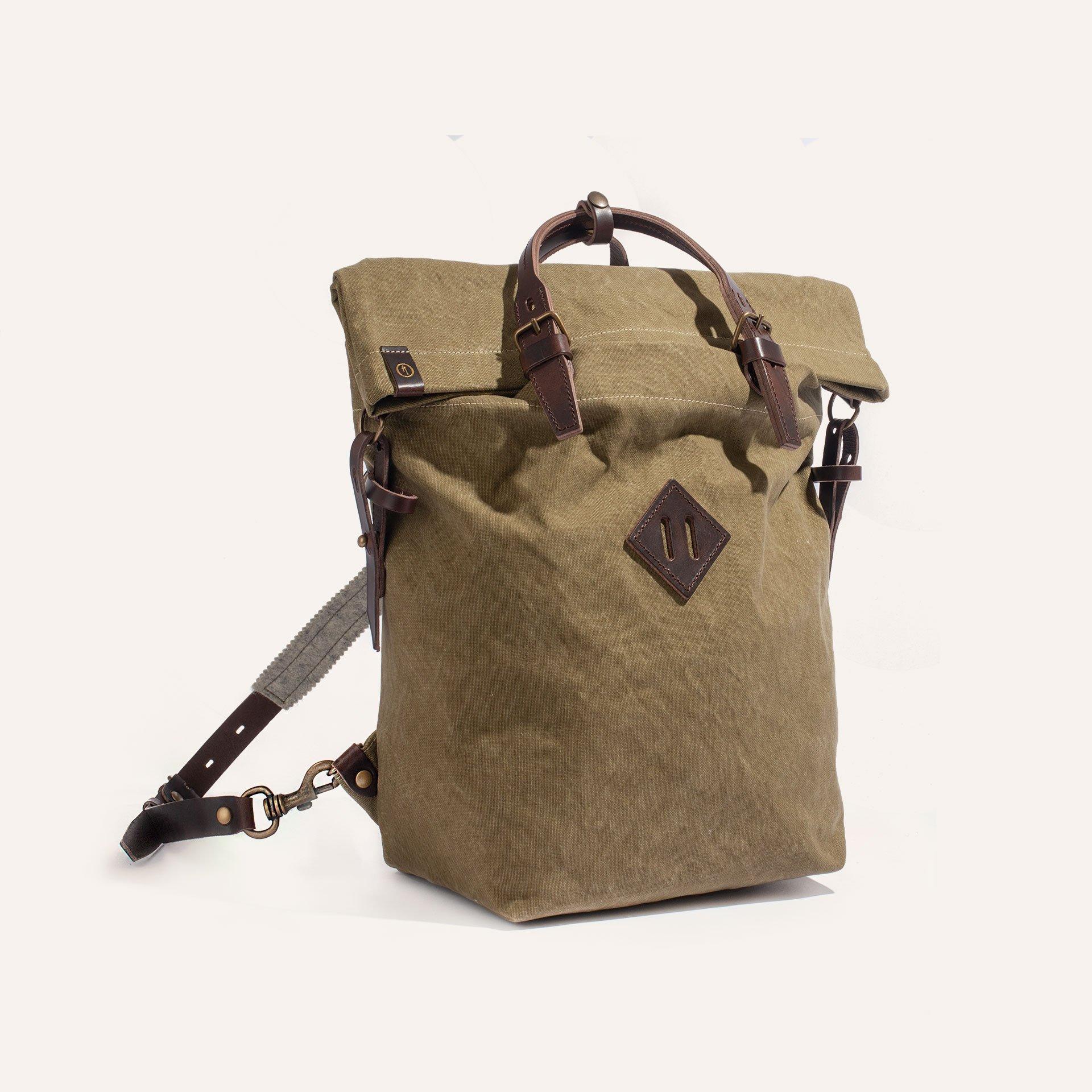 Woody S Backpack - Khaki stonewashed (image n°2)