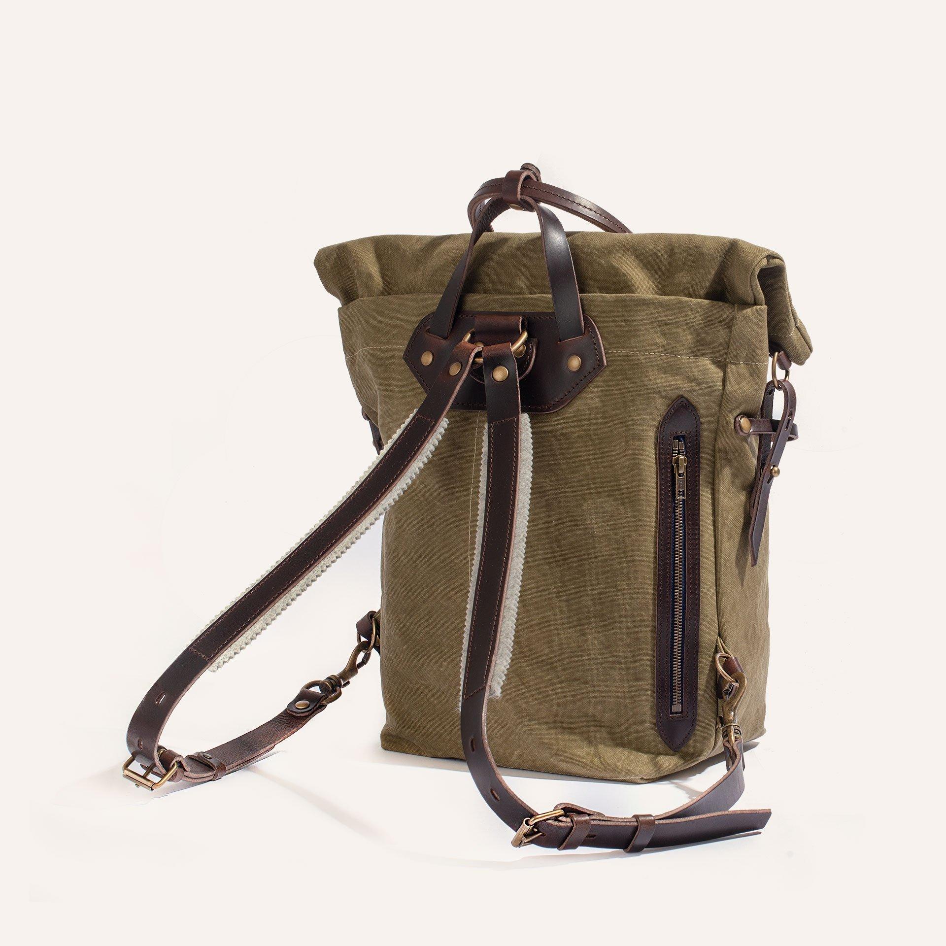 Woody S Backpack - Khaki stonewashed (image n°3)