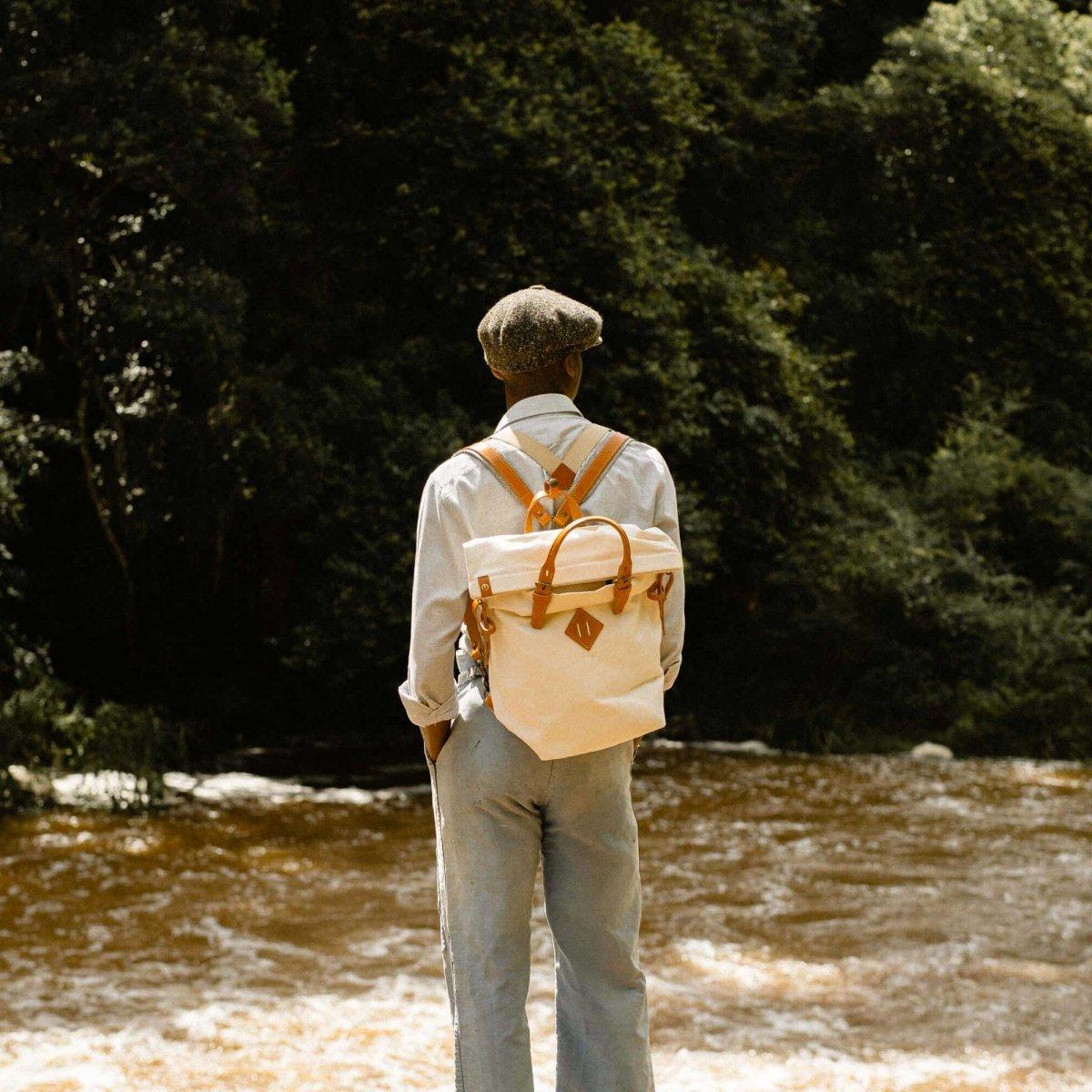 Woody S Backpack - Ecru (image n°6)