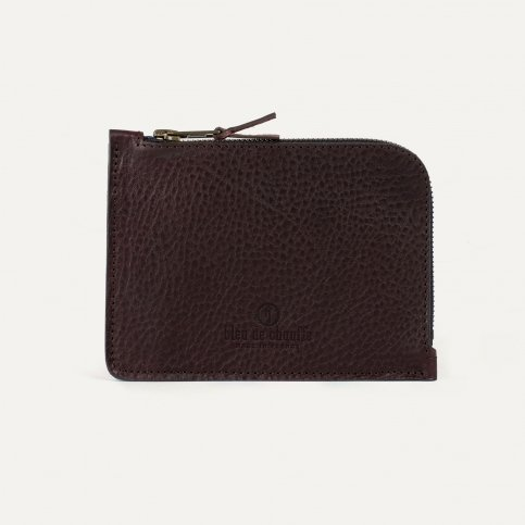 Daron zippered purse / XL - Peat