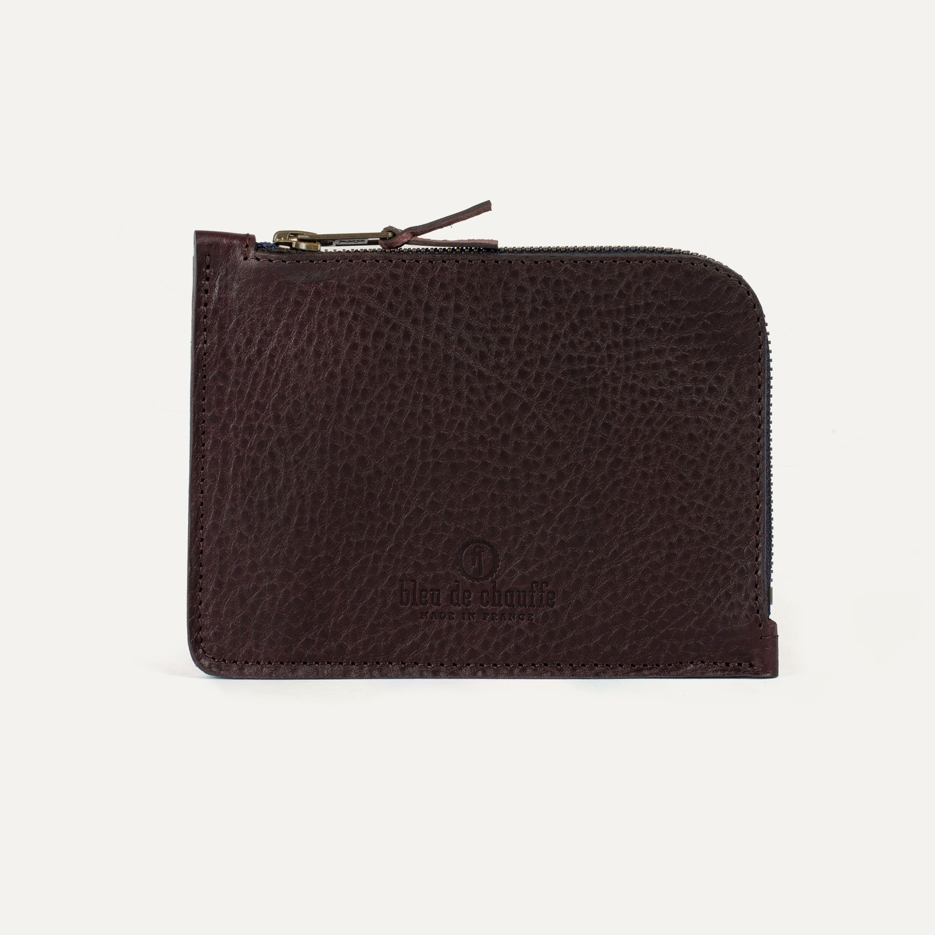 Daron zippered purse / XL - Peat (image n°1)
