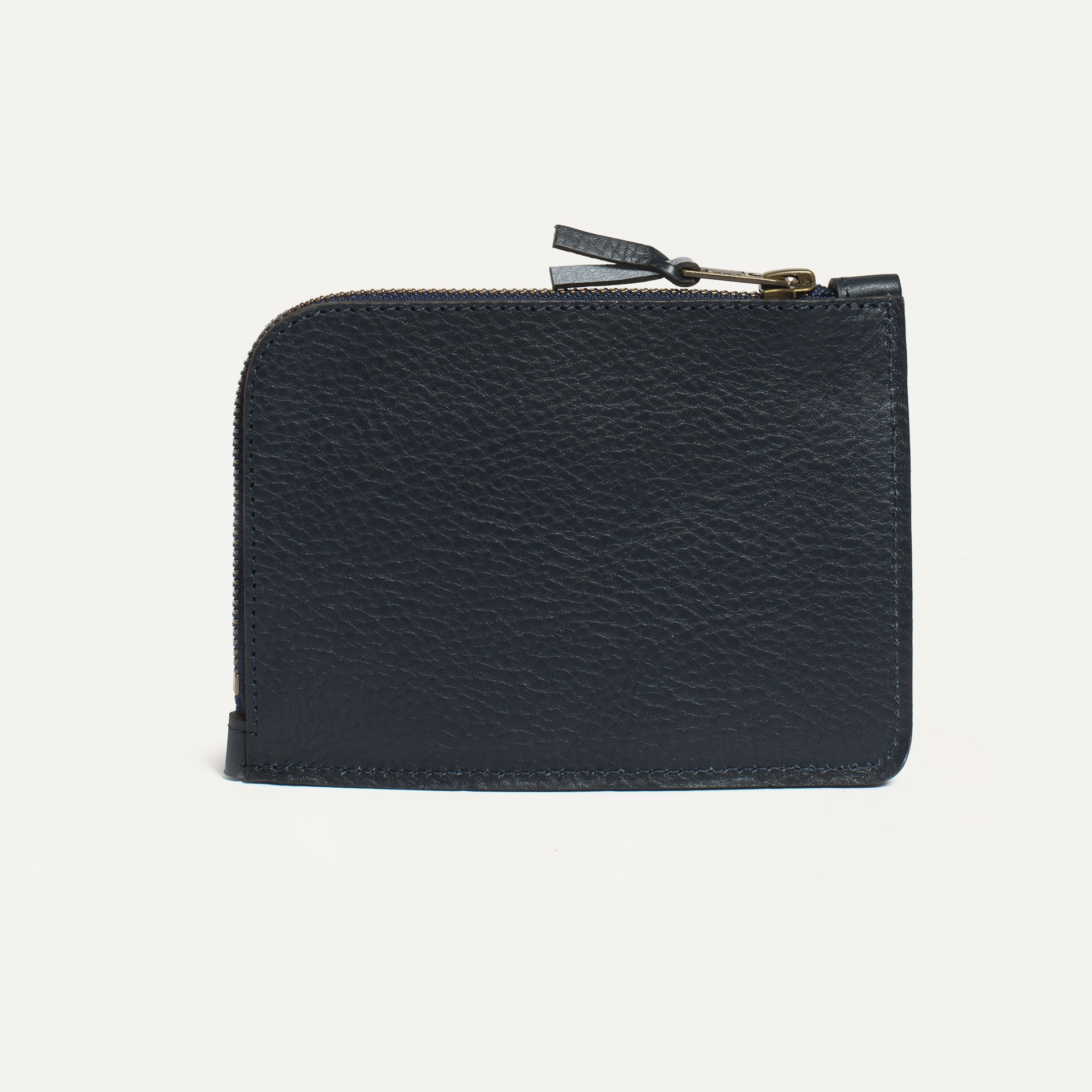 Daron zippered purse / XL - Navy Blue (image n°2)