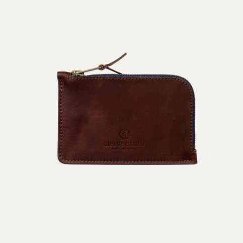 Pognon zipped purse - Peat