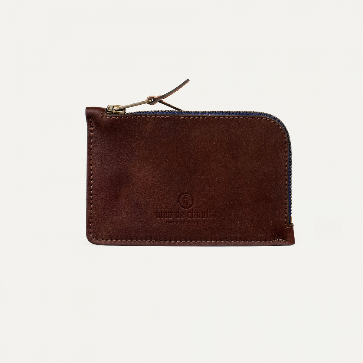 Pognon zippered purse  / L - Peat (image n°1)