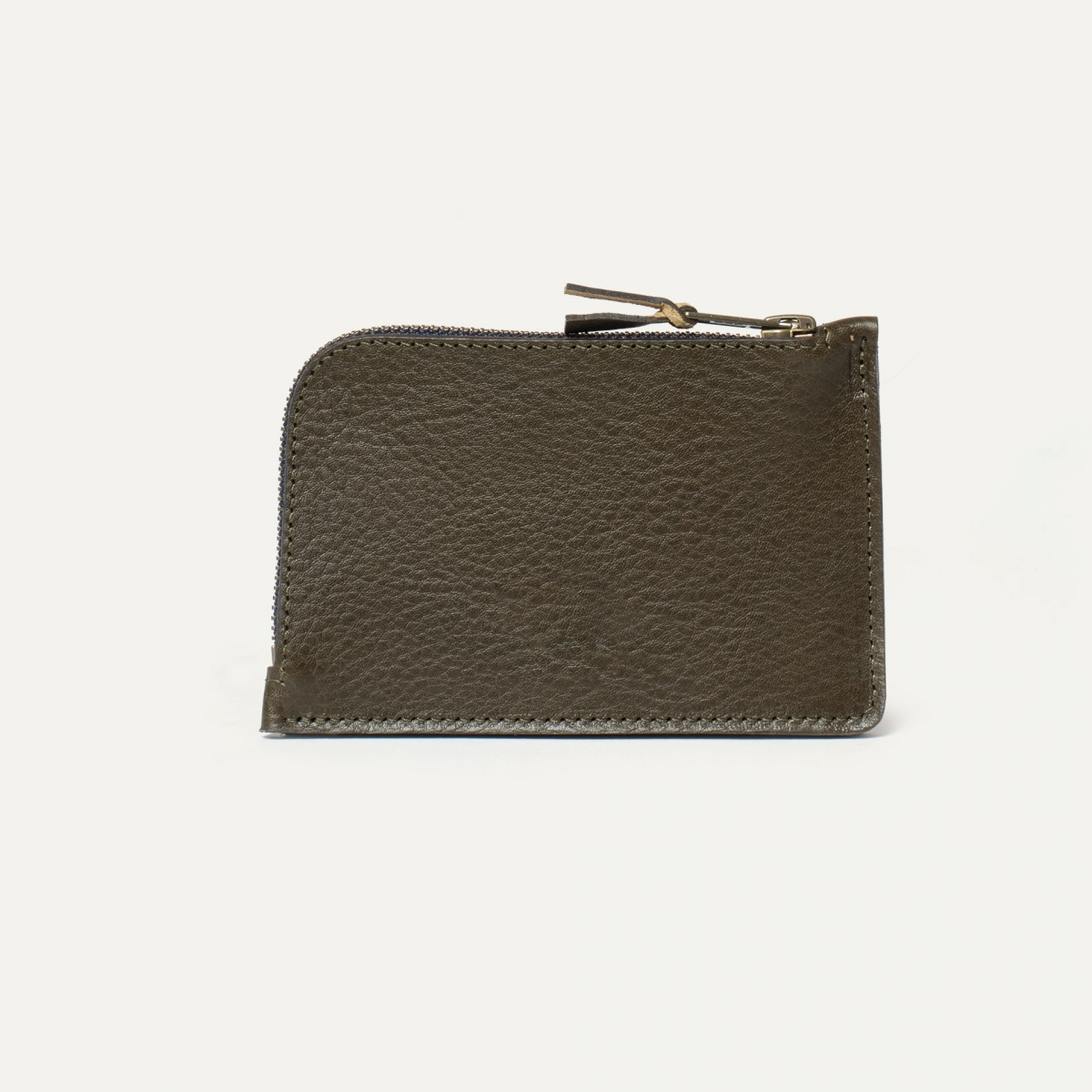 Pognon zippered purse  / L - Khaki (image n°2)