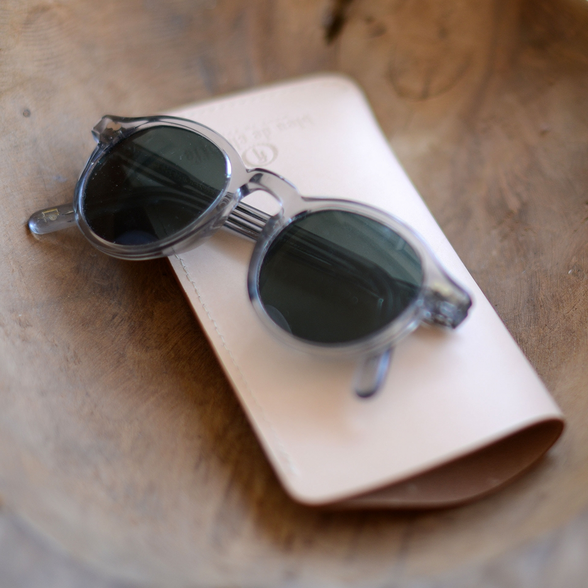 Binocle glasses case - Natural (image n°5)
