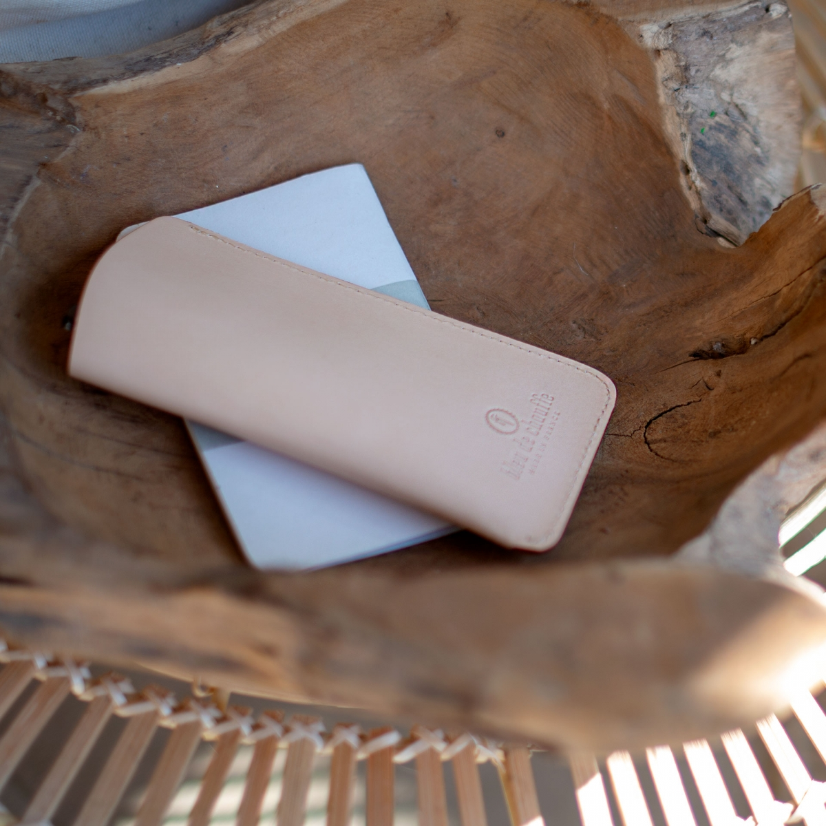 Binocle glasses case - Natural (image n°6)