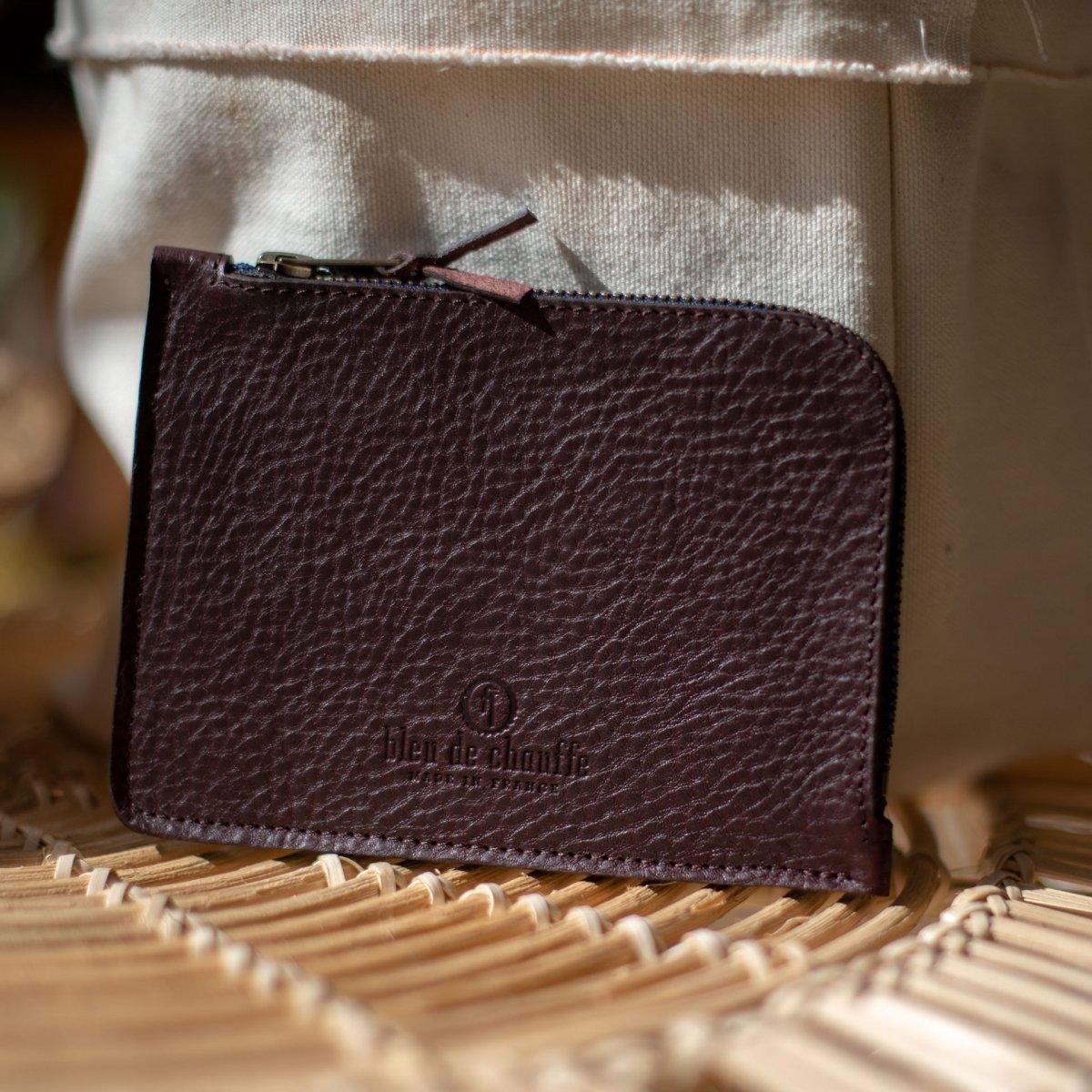 Daron zippered purse / XL - Peat (image n°3)