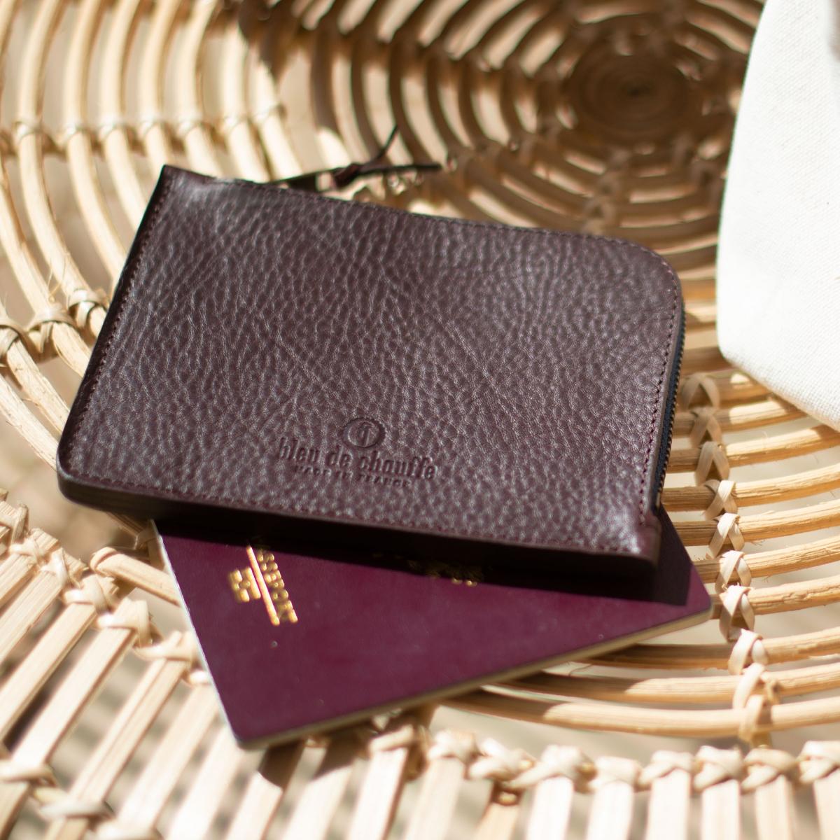 Daron zippered purse / XL - Peat (image n°4)
