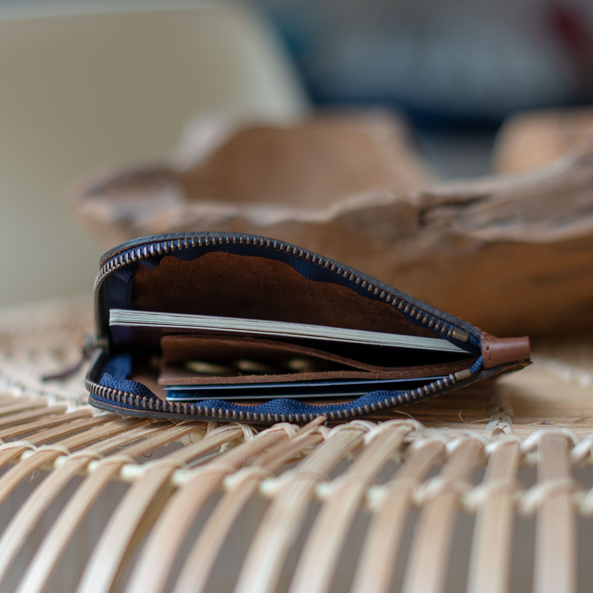 Daron zippered purse / XL - Peat (image n°6)