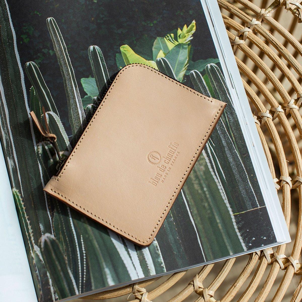 Pognon zippered purse  / L - Khaki (image n°4)