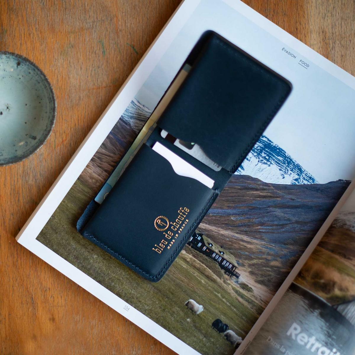PEZE wallet - Navy Blue (image n°5)