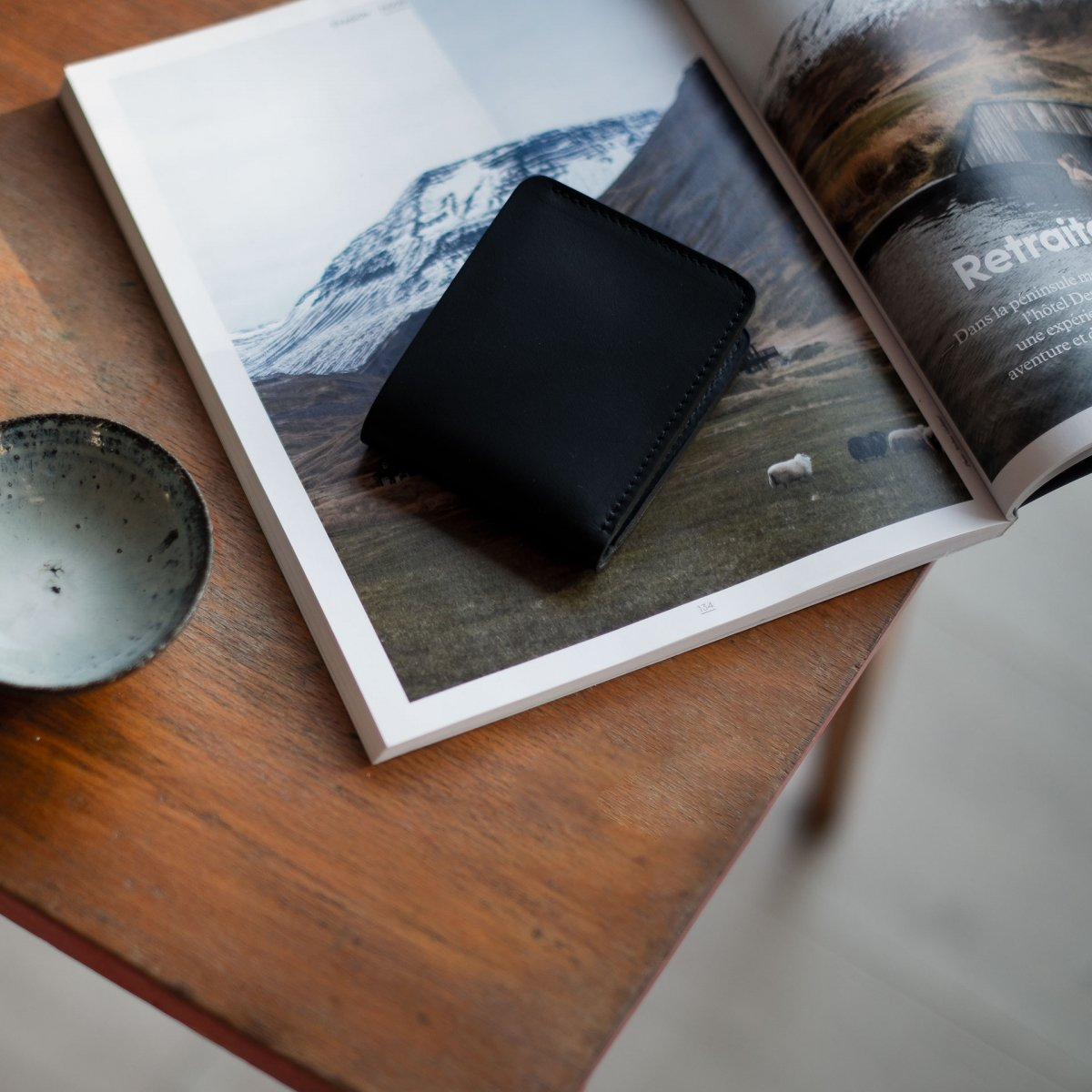 PEZE wallet - Black (image n°5)