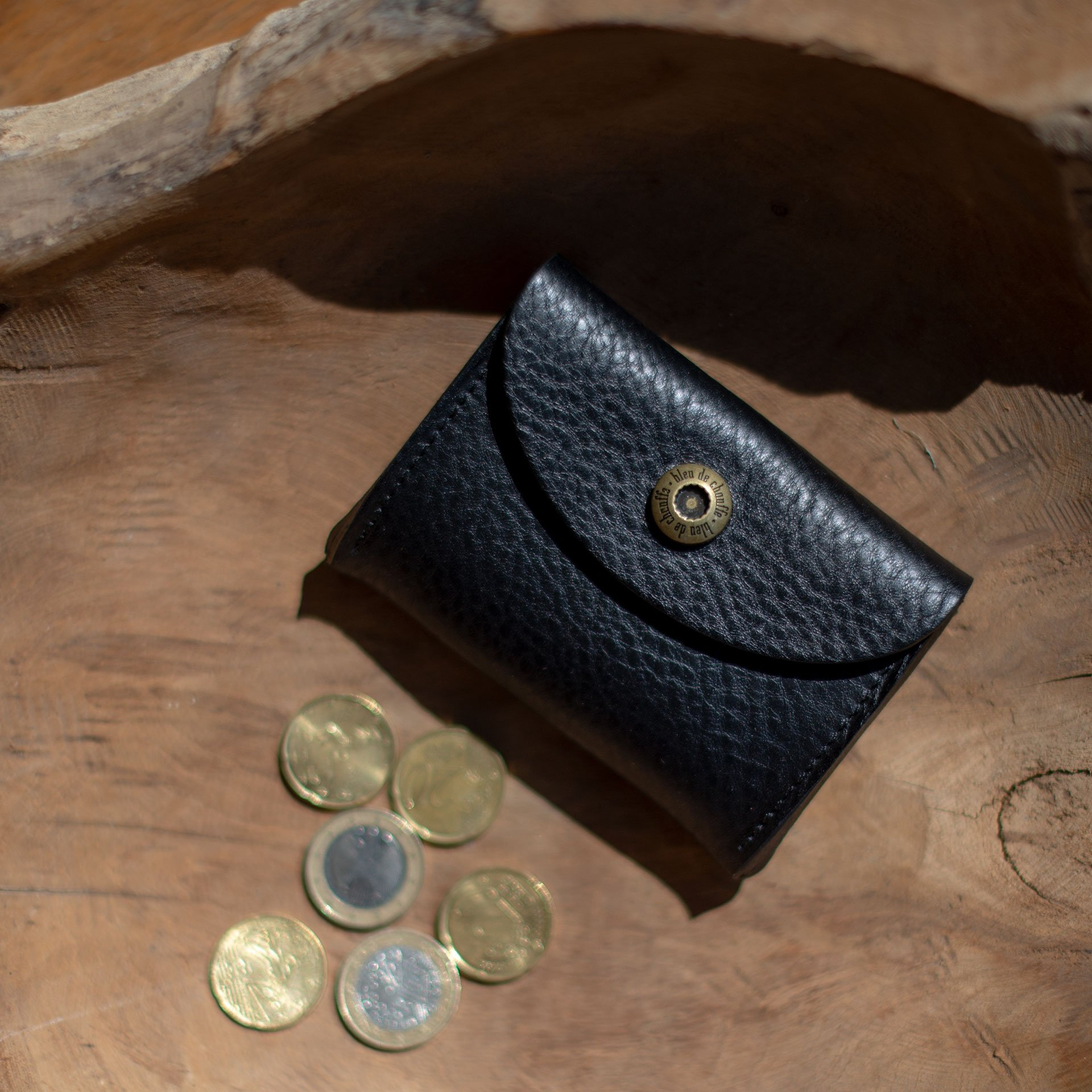 Porte monnaie du cordonnier Talbin - Noir (image n°3)