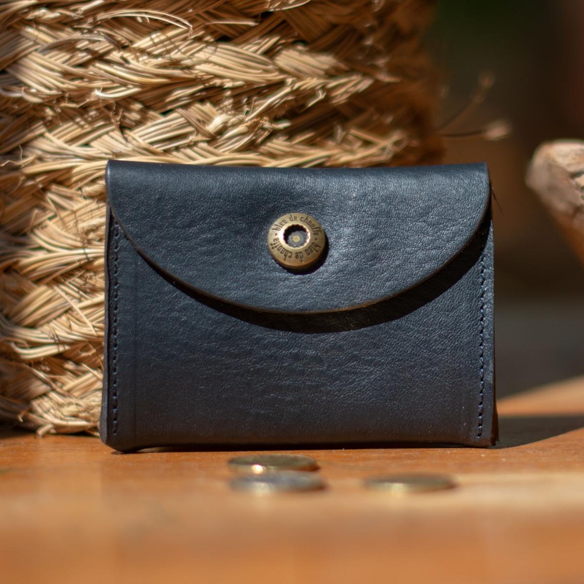 Talbin Shoemaker purse - Navy Blue (image n°3)