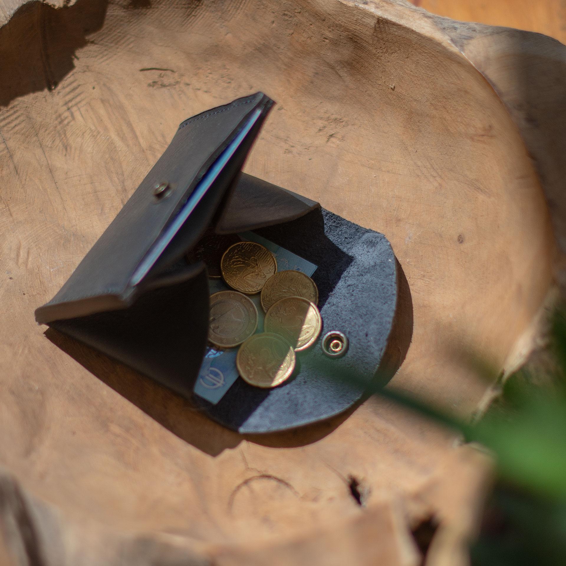 Talbin Shoemaker purse - Navy Blue (image n°4)
